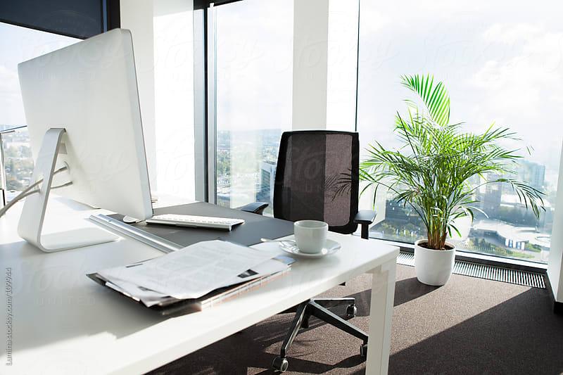 Empty Office by Lumina for Stocksy United
