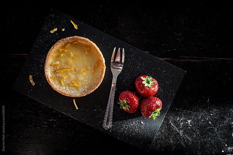Custard tart pudding. by Darren Muir for Stocksy United