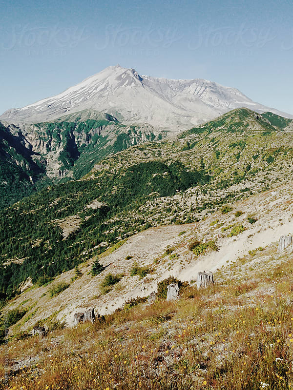 Mt St Helens by Kevin Russ for Stocksy United