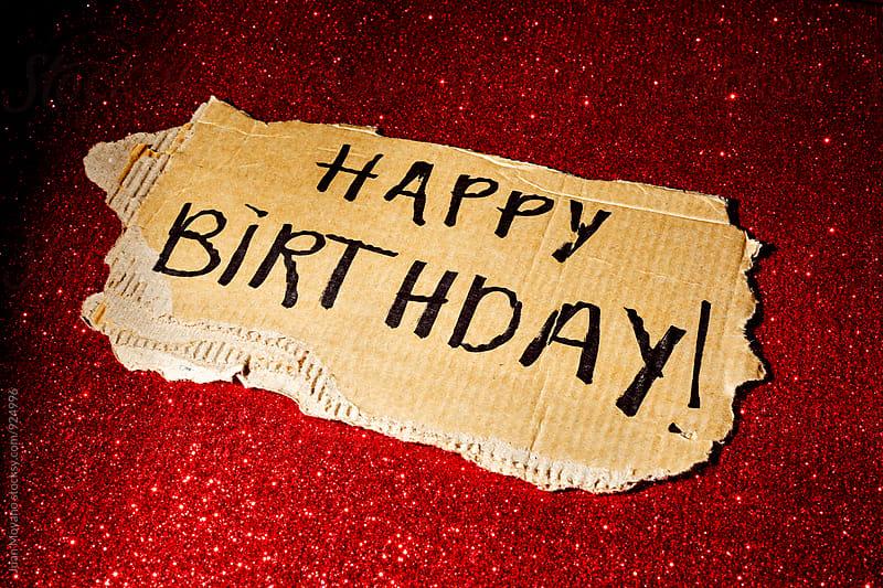 Happy Birthday! by Juan Moyano for Stocksy United
