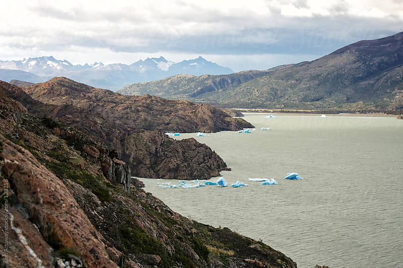 Lago Grey, Torres del Paine by Jon Attaway for Stocksy United