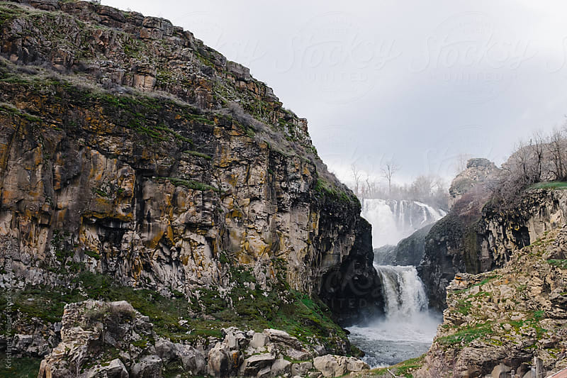 Beautiful large Waterfall by Kristine Weilert for Stocksy United