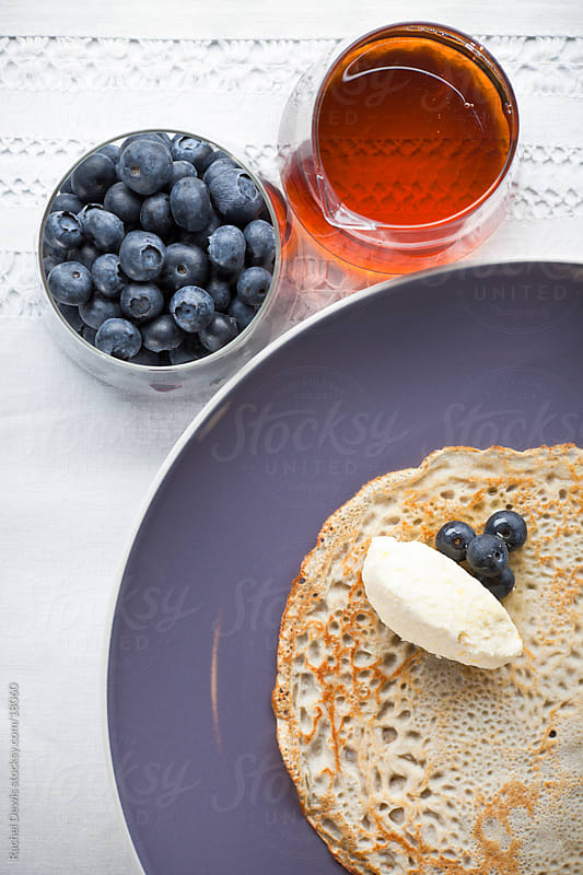 Pancakes. by Rachel Dewis for Stocksy United