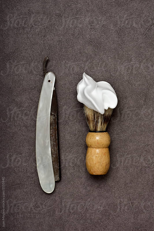 shaving by juan moyano for Stocksy United