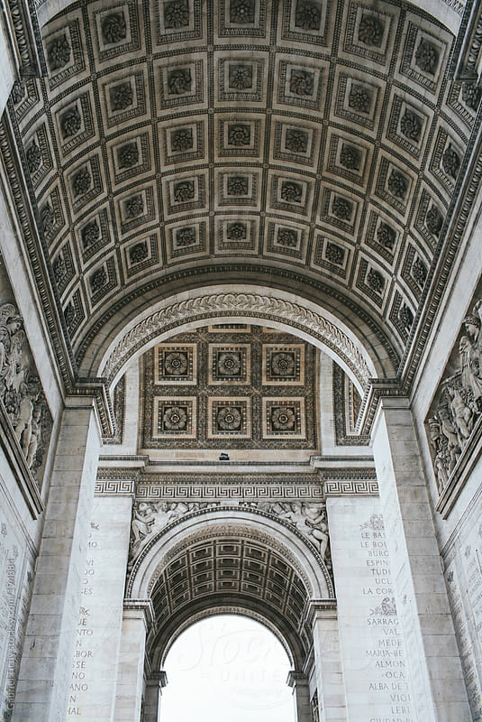 Arc de Triomphe, Paris by Gabriel Tichy for Stocksy United