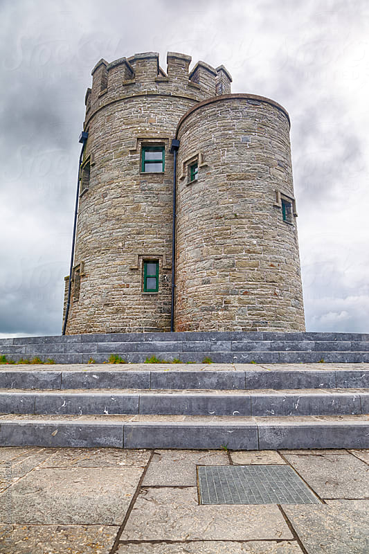 O'Briens Tower on the Brren Way . HDR by HEX. for Stocksy United