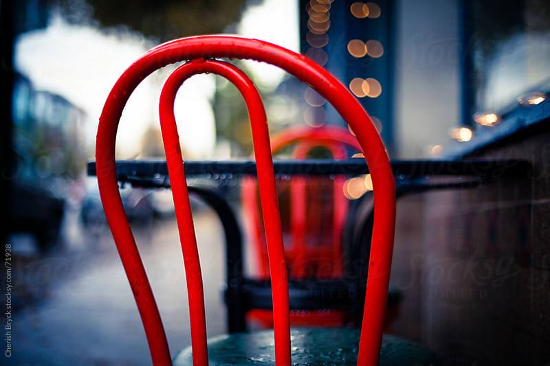 Rainy Day Cafe by Cherish Bryck for Stocksy United