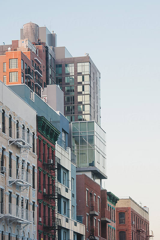 Buildings in New York City by Lauren Naefe for Stocksy United