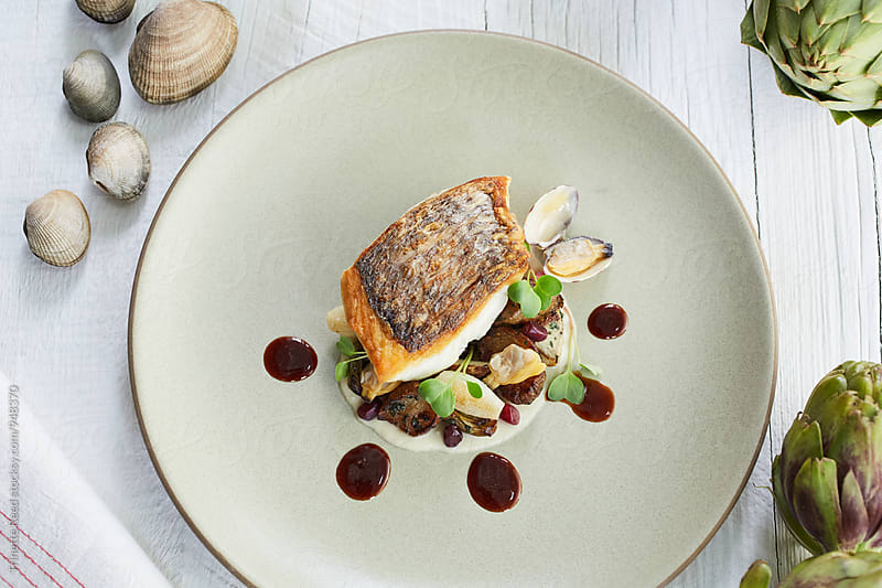 Tai Snapper with vegetables by Trinette Reed for Stocksy United