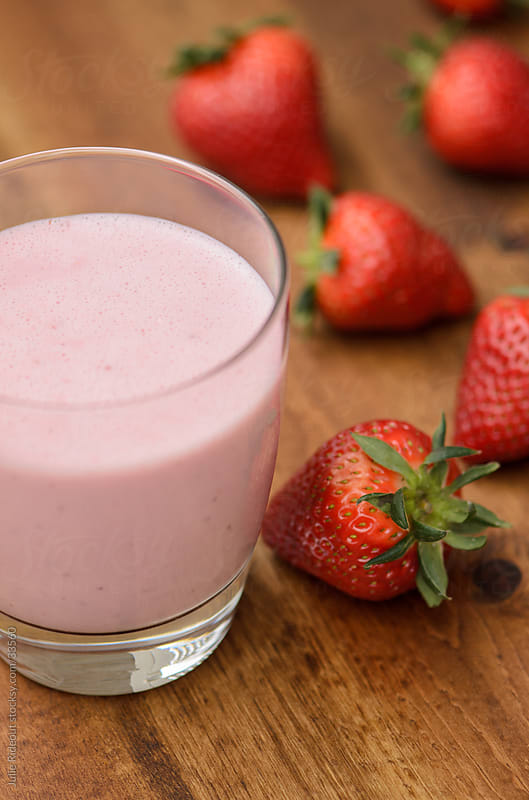 Strawberry Smoothie by Julie Rideout for Stocksy United