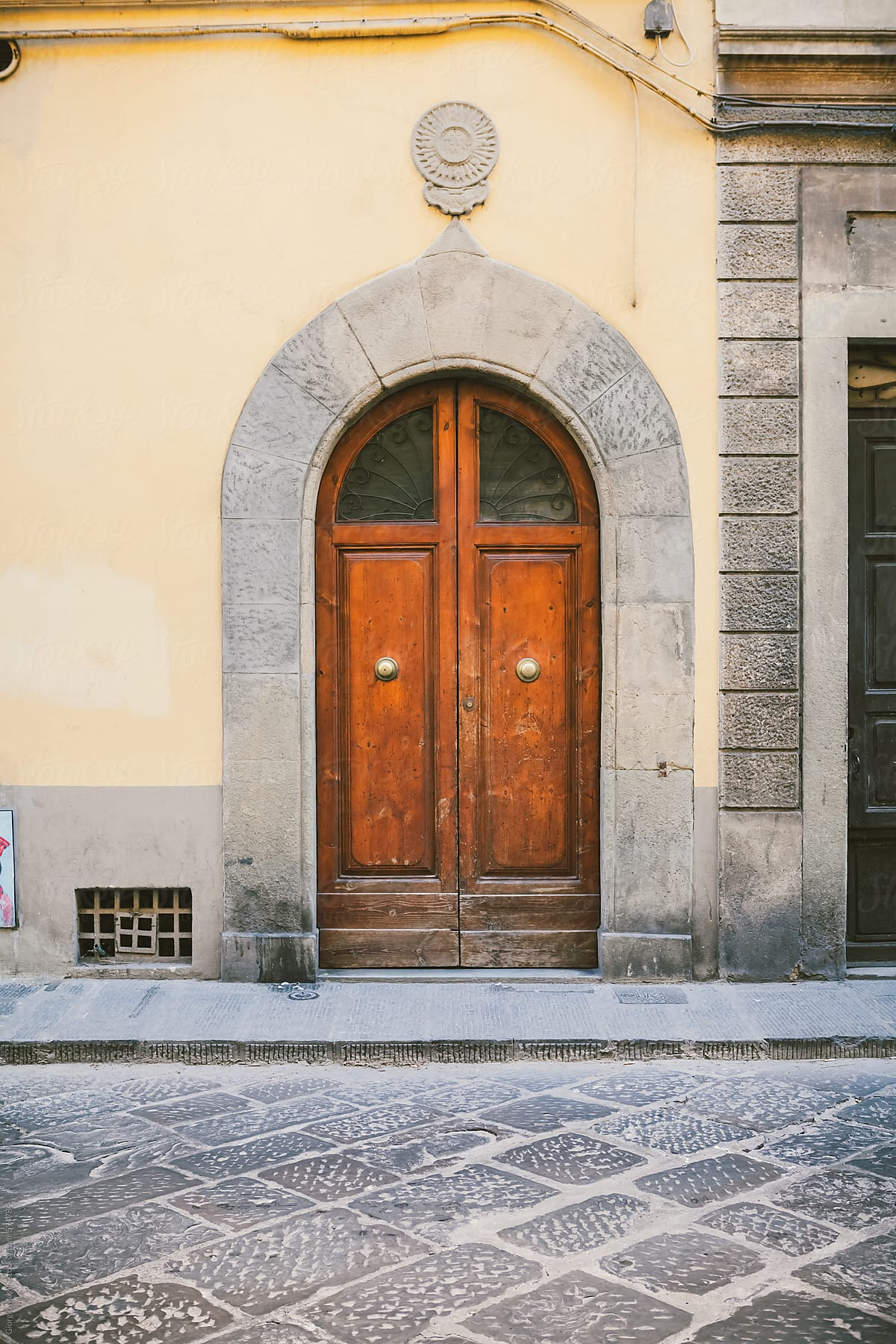 Wooden Door Of An Old Italian Palace By Giorgio Magini For Stocksy United