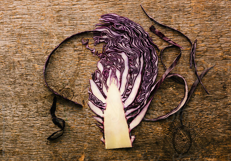 Organic Red Cabbage by Jeff Wasserman for Stocksy United