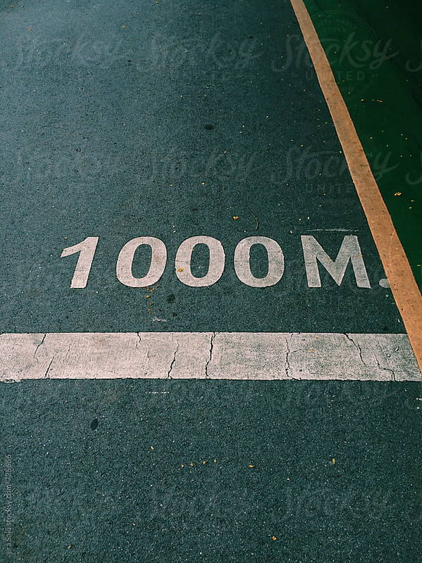 1000 m by jira Saki for Stocksy United