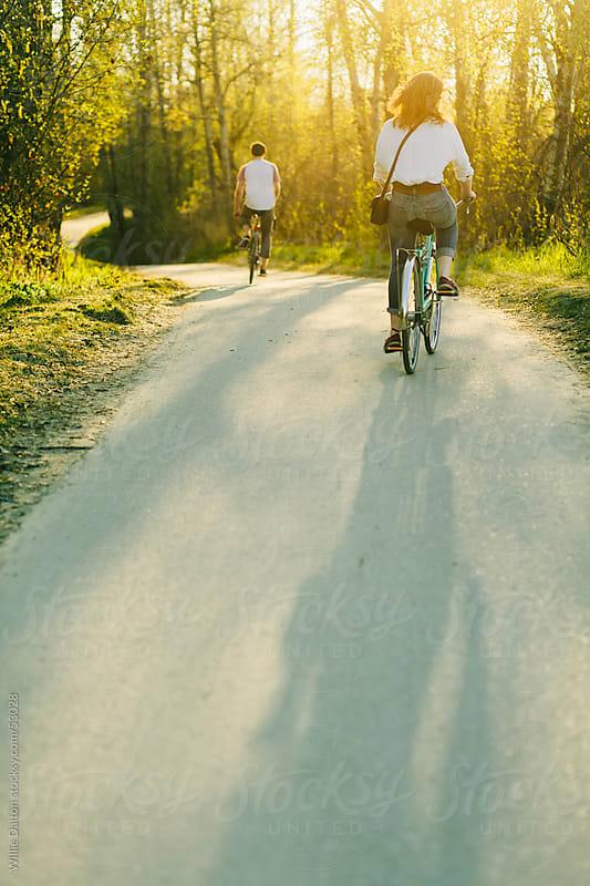 Sunset Bike Ride by Willie Dalton for Stocksy United