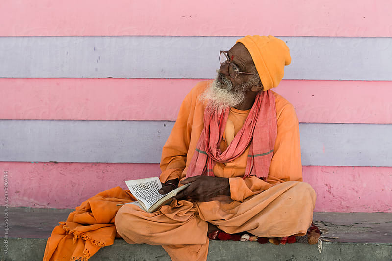 Hindu Baba  by RG&B Images for Stocksy United