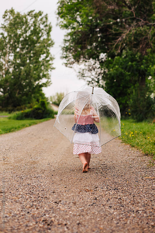 Rainy Day Stroll by Jessica Byrum for Stocksy United