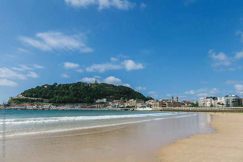 San Sebastian, Spain by VICTOR TORRES for Stocksy United