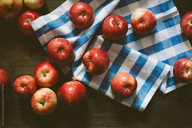 fresh real apples by Alexey Kuzma for Stocksy United