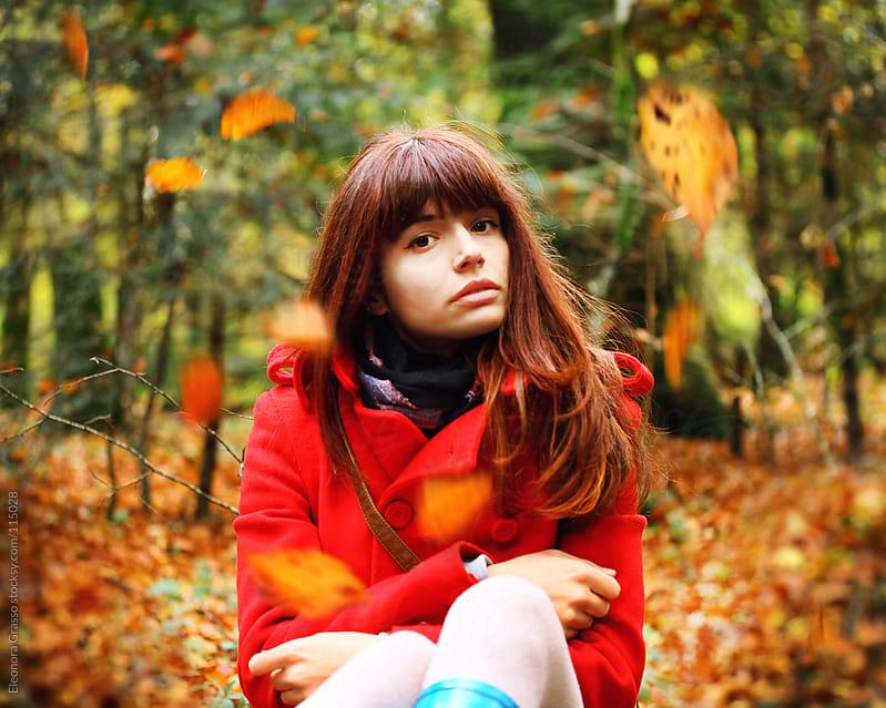 Autumn girl by Eleonora Grasso for Stocksy United