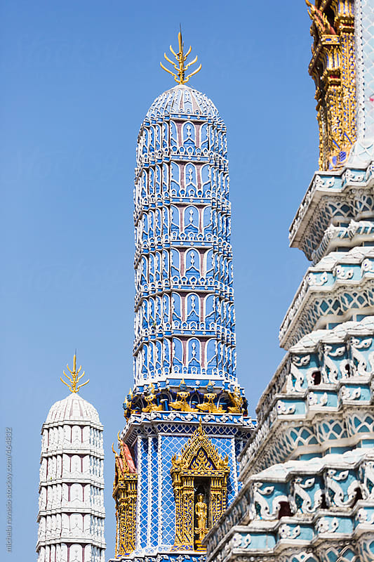 Grand Palace in Bangkok, Thailand by michela ravasio for Stocksy United