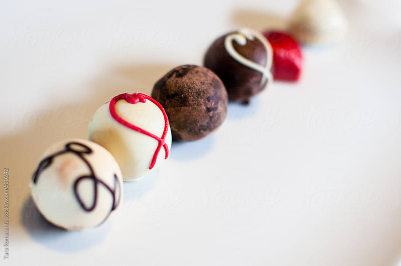 truffles for valentine's day by Tara Romasanta for Stocksy United