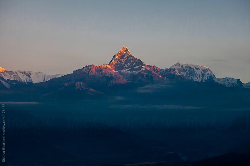 The Annapurna range from Sarankot, Pokhara. by Shikhar Bhattarai for Stocksy United