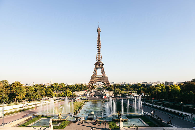 Eiffel Tower by Agencia for Stocksy United