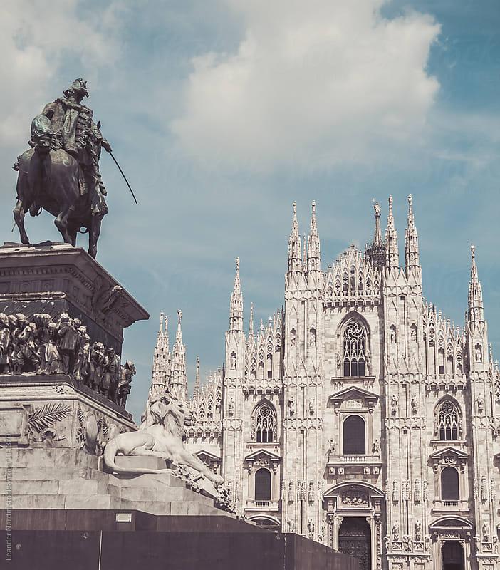 Duomo in Milan by Leander Nardin for Stocksy United