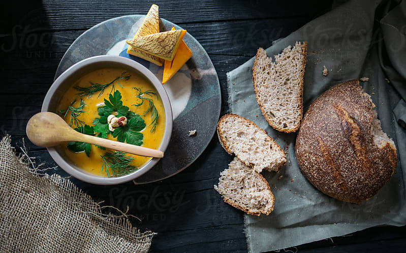Pumpkin Soup by Lumina for Stocksy United