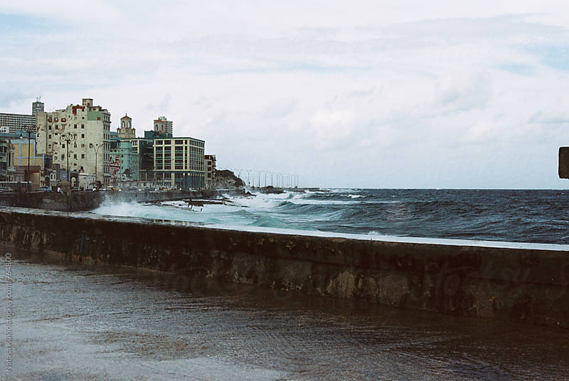 View on the ocean by Natasa Kukic for Stocksy United