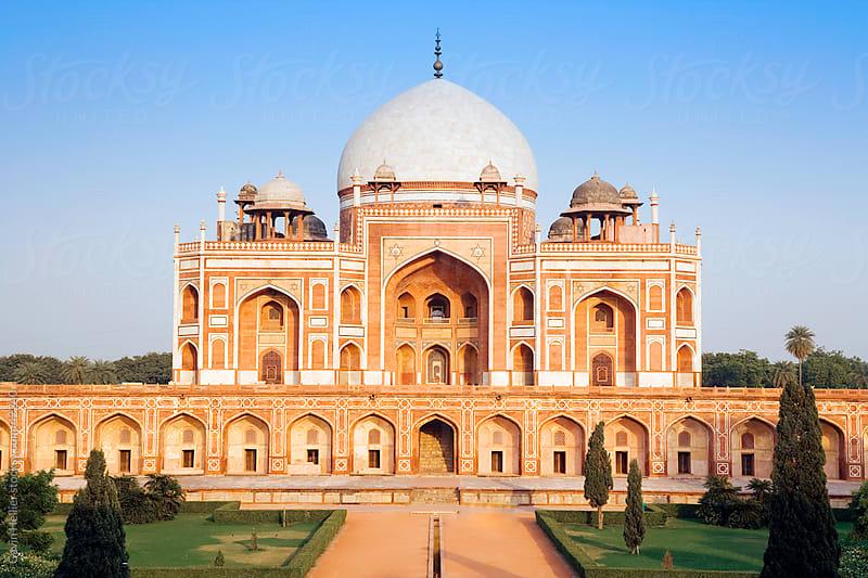 India, Delhi, Humayun's tomb by Gavin Hellier for Stocksy United
