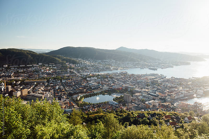 Bergen Cityscape by Agencia for Stocksy United