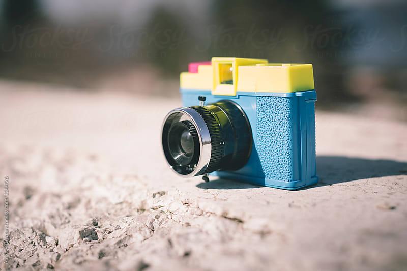 toy camera by Alexey Kuzma for Stocksy United