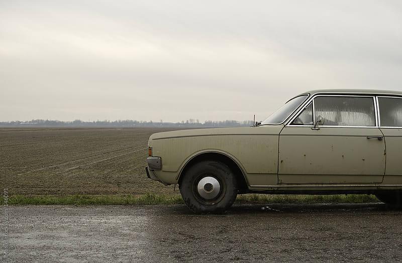 Vintage seventies car by Marcel for Stocksy United