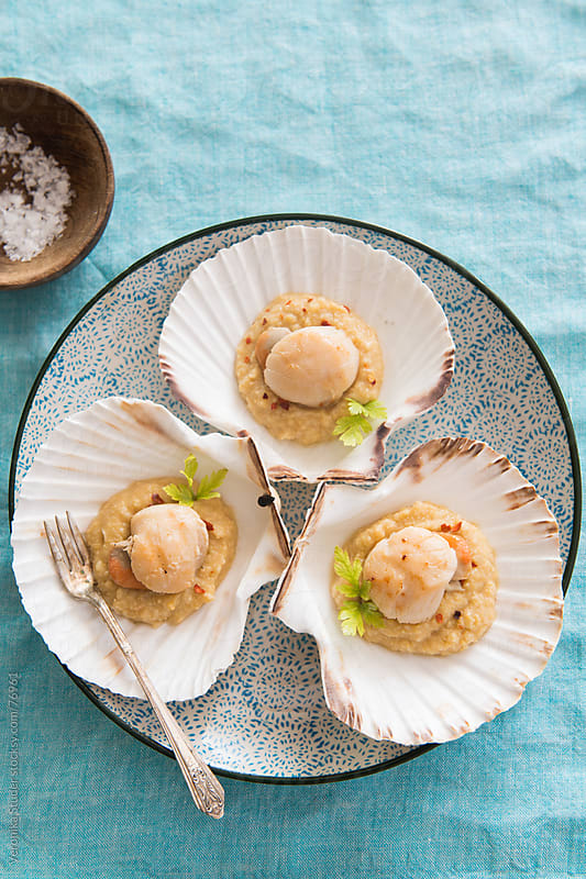Scallops  by Veronika Studer for Stocksy United