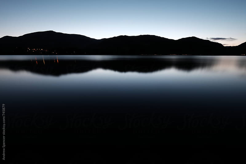 Coniston Man Reflection by Andrew Spencer for Stocksy United