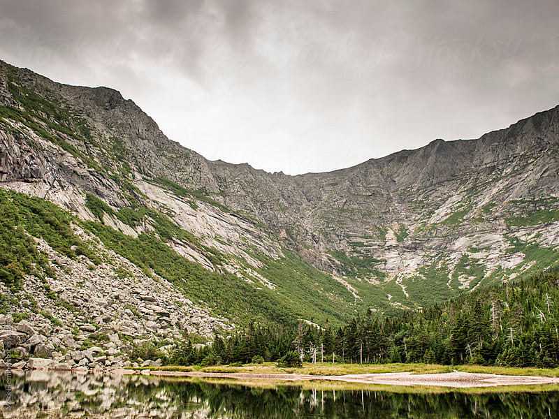 Mt Katahdin by Mark Fleming for Stocksy United