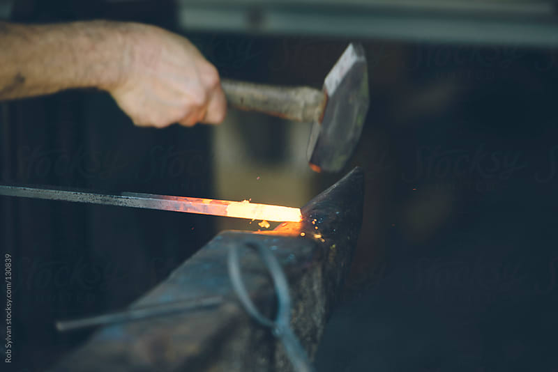 Blacksmith by Rob Sylvan for Stocksy United