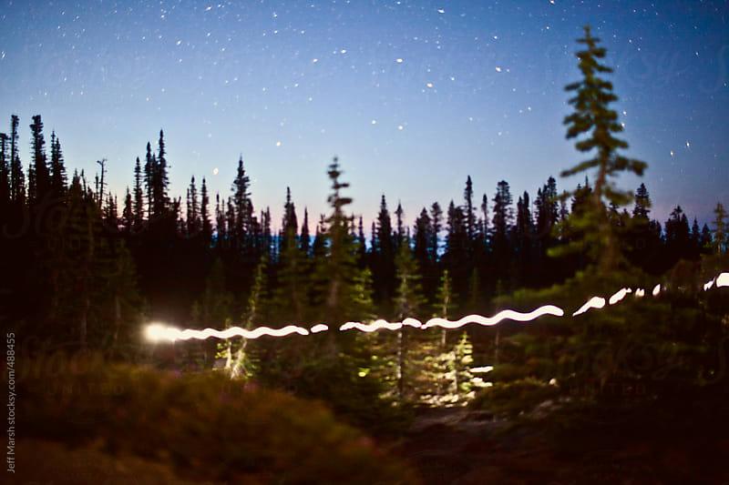 Light trail by Jeff Marsh for Stocksy United