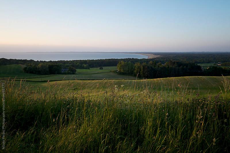 Bay in Denmark. by Nicolai Perjesi Photography for Stocksy United