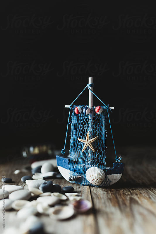 Small boat by Tatjana Ristanic for Stocksy United