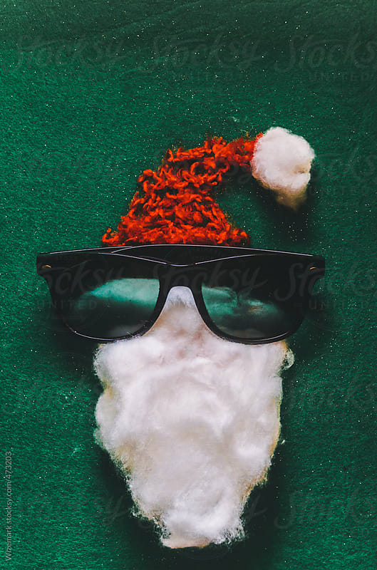DIY Santa Claus face  by Wizemark for Stocksy United