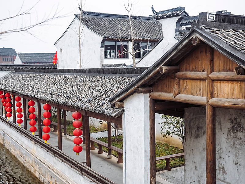 Dangkou, ancient town by unite images for Stocksy United