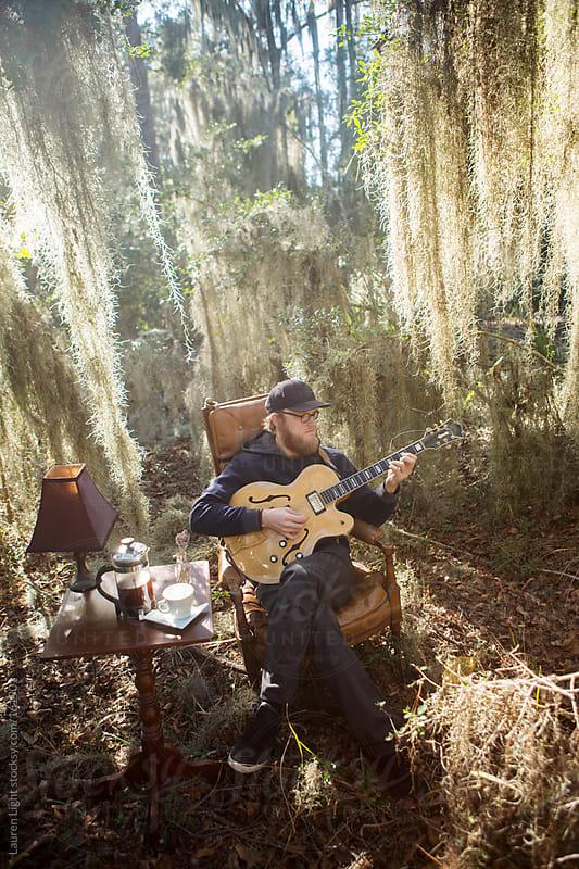 Marsh Musician by Lauren Light for Stocksy United