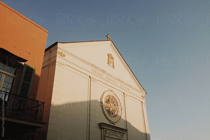 French Quarter Church by Michael Tucker for Stocksy United