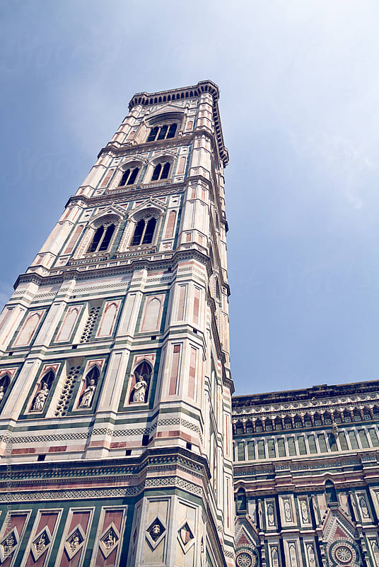 Tower of the Duomo in Florence by Leander Nardin for Stocksy United