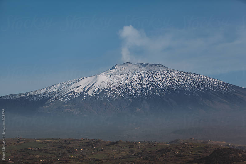 Travel around mount etna sicily by Peter Meciar for Stocksy United