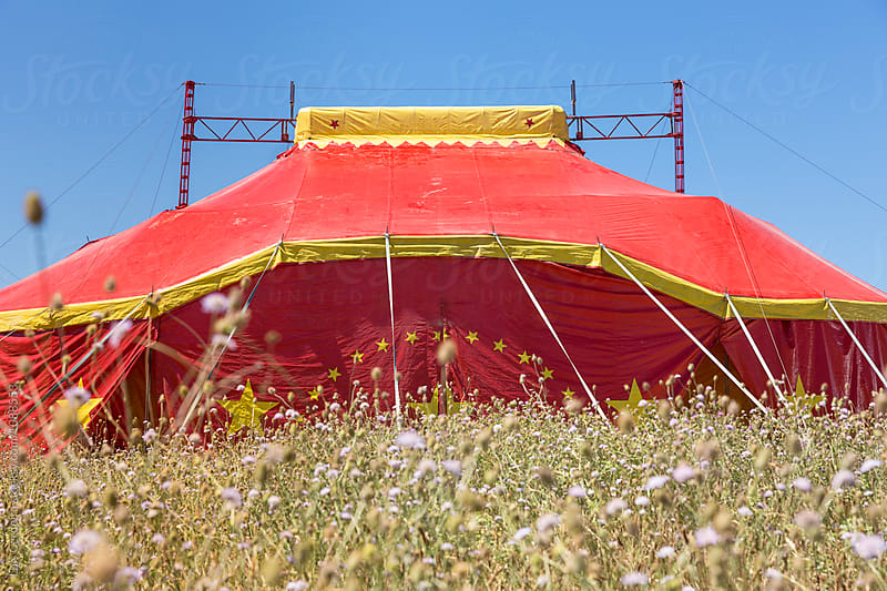 Circus tent by Luis Cerdeira for Stocksy United