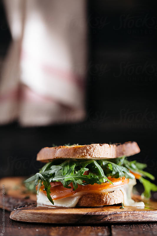 Vegetarian Sandwich by Davide Illini for Stocksy United