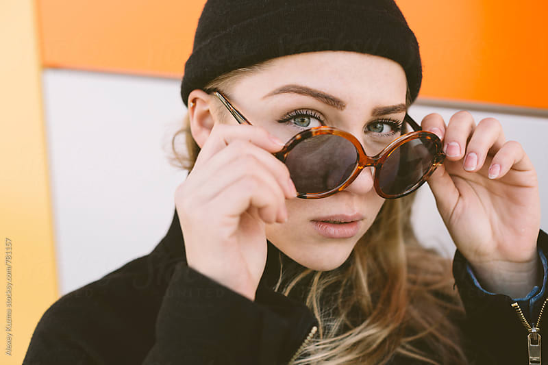 cool young woman by Alexey Kuzma for Stocksy United